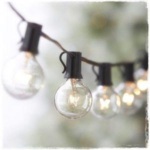 guirnalda bombillas luces exterior E14