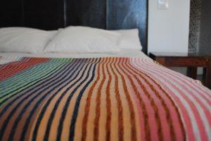 cubre camas seda vegetal o sabra