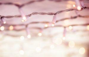 cordon LED exterior blanco calido