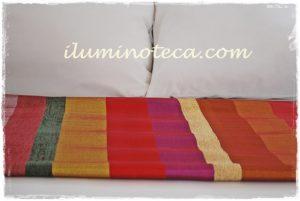 cubre camas seda catus iluminoteca