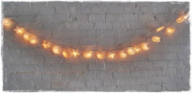 Guirnalda de luces cosmos blanca iluminoteca - Guirnaldas de luces ...