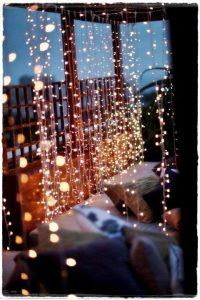 guirnaldas y cordones luces led