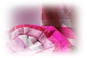 puf y cubre camas seda vegetal