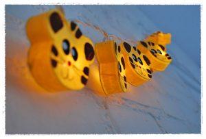 guirnalda tigres amarillos iluminoteca