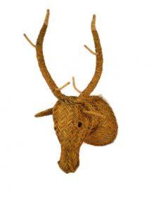 cabeza ciervo esparto