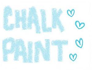 pintura tiza chalk paint