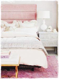 decoracion pantone rosa
