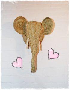 elefante corazones