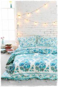 guirnaldas luces feria dormitorio