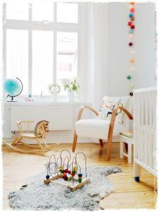 habitacion infantil blanco madera