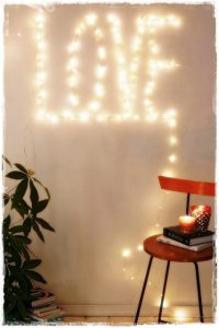 luces navidad love