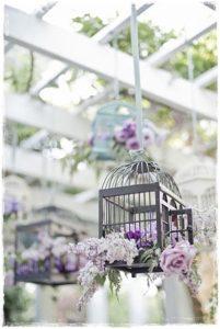 jaula flores bodas