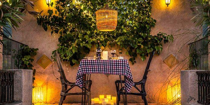 Iluminar balcones jardines y terrazas con pocos puntos de luz iluminoteca - Iluminacion de jardines ...