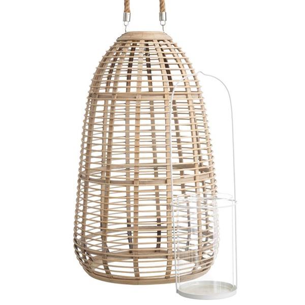 Portavelas de bamb iluminoteca - Faroles portavelas exterior ...
