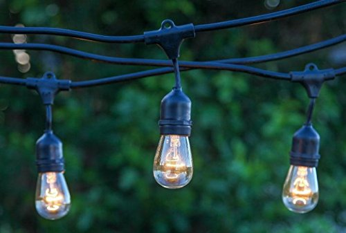 Guirnalda luces jardin casquillo e27 ip65 iluminoteca for Iluminacion para exteriores