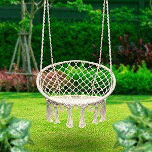 Sillas Columpio De Crochet El Complemento Mas Relajante Iluminoteca - Silla-columpio